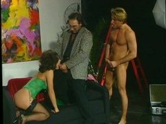 DP scene from Act Studio (1993) with Angelica Bella