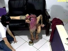Foot Humiliation and Face Trample Mistress RedHead
