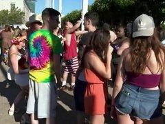 Naked at SF Pride