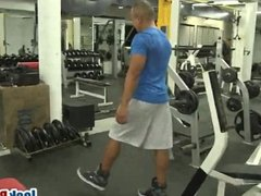 Muscular Gym Gay Studs Rimjob Anal Fuck