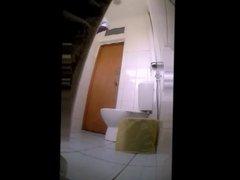 hidden cam - doctor in toilet
