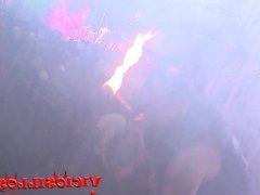 Show de fuego en Zorrilandia en el SEB