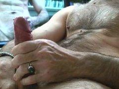 Big dady dick pre cumming