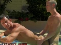 Boy makes gay man cum With the boys spunk