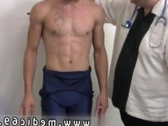 Gay male playing doctor and massage doctor