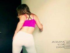 Teen Yoga Pants Booty Shake Webcam Twerk