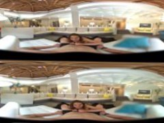 VR Steroscopic 360 - Shyla Ryder Shows Mike Mancini a Good Time