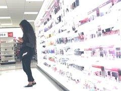 Bubble Butt Makeup Girl at Target