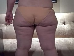 Chubby Booty PAWG In VPL Perfect Panties