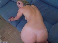 Arab squirt and big ass arab fingering