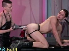 Naked male shaved bondage and gay twink