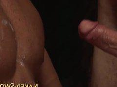 Kinky jock sucking cock