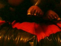 latex feet on latex bed (test with new dv cam(