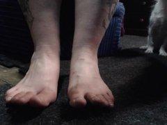 xmas eve featuring adam's feet
