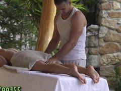 Foot massage hottie cum