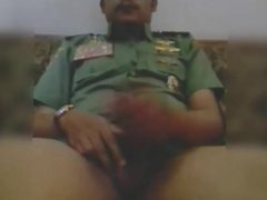 Hot moustache army officer daddy in Uniform part 6