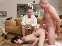 Titty sucking threesome and miko sinz