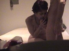 Teri loves sucking cock