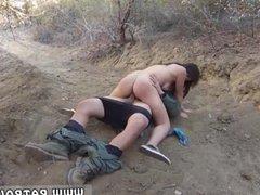 Brunette pov orgasm Mexican border patrol