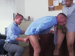 Bored straight guys play with dick gay porn