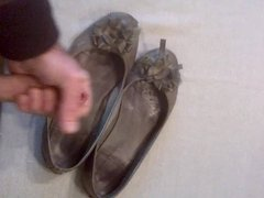 cum in my wife's shoes