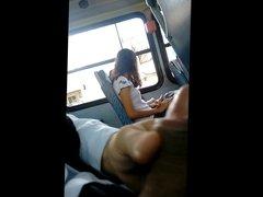 Masturbation in bus 2