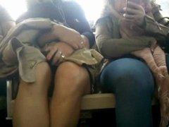 Bus Cam 2: Another Short Skirt Honey