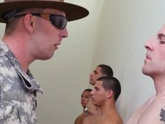 Army boy gay porn Yes Drill Sergeant!