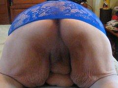 hot blue top sombody sent me
