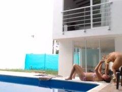 Teen masturbates in front of his sister in hidden camera