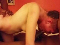 Teen Getting Banged By 2 BBC