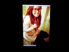 Tara Smith on a toilet cum tribute