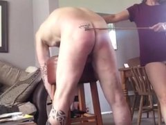 Wife punish her cuck slave