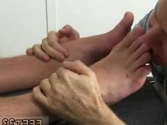 Sucking a straight boys toes in hd gay