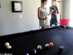 Gay twink emo teens fucked Pool Cues And