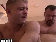 Gorgeous Ian Levine gets private sex lessons from Max