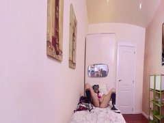 Virtual Reality Hot Schoolgirl