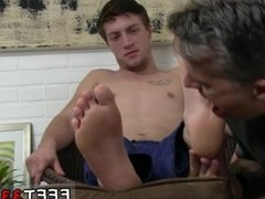 Tall naked men with big feet gay Logan's