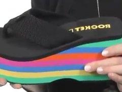 Promotion Wedge Flip-Flop