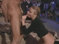 babe fucked front of homeless shelter