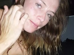 Crystal Owens Sucking My Cock