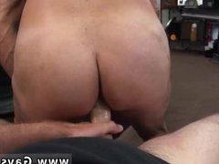 Blow job gay on straight dudes locker