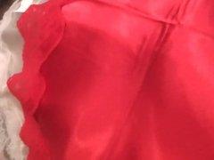 Ma lingerie nuisettes en satin  combinaisons en nylon