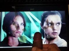 Daisy Ridley , Felicity jones tribute