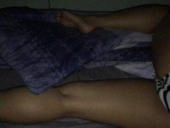 sister in bed spy bedroom 9