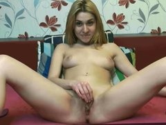 Girl with a nice meaty pussy