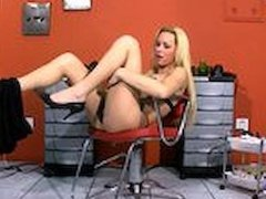 Intriguing t-girl with tanned boobs is tugging her shemeat