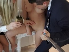 Los Consoladores - Wild Spanish threesome with hot babes