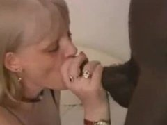 Mature Blonde fuck black love