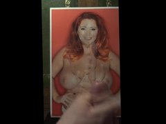 Cum tribute to Page 3 Lucy from Warwick